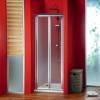 SIGMA drzwi prysznicowe składane 900mm, szkło Brick