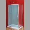 SIGMA ścianka boczna, 800mm, szkło Brick