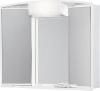 ANGY szafka z lustrem 59x50x15cm, 1x12W, biała