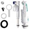 EGO-FLO-CENTO-RETRO oszczędna armatura spłukująca do WC kombi, chrom