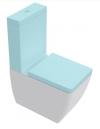 EGO WC kombi 36x43x60cm, dolny/tylny odpływ