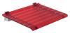 LEO siedzisko prysznicowe 40x31cm, czerwone