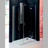 VITRA LINE kabina prostokątna z zaokr. rogiem 1200x800mm, prawa, szkło czyste