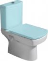 BASIC muszla WC kombi, dolny/tylny odpływ, 35x61cm