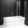 PALOMA parawan wannowy 900mm, szkło czyste