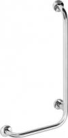 Poręcz kątowa PRAWA 810x550mm, stal nierdzewna (301122041)