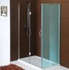LEGRO drzwi prysznicowe 1200mm, szkło czyste