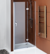 LEGRO drzwi prysznicowe do wnęki 800mm, szkło czyste