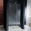 VITRA LINE drzwi prysznicowe wnękowe 1400mm, lewe, szkło czyste