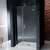 VITRA LINE drzwi prysznicowe wnękowe 1300mm, prawe, szkło czyste