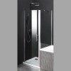 ONE parawan pomiędzy wannę i kabiną prysznicową, 800x800 mm, szkło czyste