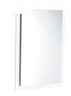 EMA lustro klejone z podświetleniem LED, 50x70cm, białe