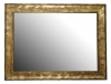 BERGARA lustro w ramie 860x640mm, złoto