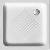 Brodzik prysznicowy ceramiczny, kwadrat 90x90x12cm