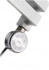 MOA grzałaka elektryczna z termostatem, 400W, chrom