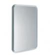 FLOAT Lustro z podświetleniem LED 60x80cm, białe