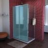 LUCIS LINE boczna ściana prysznicowa 1000mm, szkło czyste