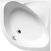 SELMA brodzik prysznicowy głęboki półokrągły 90x90x30cm,R550,biały