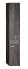 ZOJA/KERAMIA FRESH szafka wysoka 35x184x29cm, mali wenge