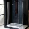 VITRA LINE kabina prysznicowa, prostokąt 800x700mm, lewa, szkło czyste