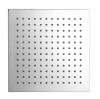 Deszczownia kwadratowa 204x204mm, ABS/chrom