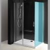 ONE drzwi prysznicowe z częścią stałą 800 mm, szkło czyste