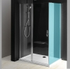 ONE drzwi prysznicowe z częścią stałą 900 mm, szkło czyste