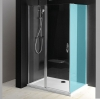 ONE drzwi prysznicowe z częścią stałą 1100 mm, szkło czyste