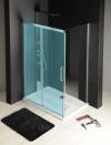 FONDURA ścianka boczna 800mm, szkło czyste