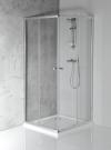 AGGA kabina prysznicowa narożna 800x800mm, szkło czyste
