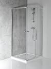 AGGA kabina prysznicowa narożna 900x900mm, szkło czyste