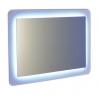 LORDE lustro na szkle z podświetleniem LED 900x600mm, białe