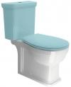 CLASSIC misa WC kombi, dolny/tylny odpływ, ExtraGlaze