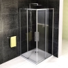 ALTIS LINE kabina prysznicowa narożna 1000x1000mm, szkło czyste