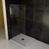 VITRA LINE ścianka boczna 1055mm, lewa, szkło czyste