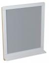 PRIM lustro z półką 70x84x14cm, cedr/białe