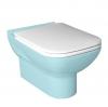 BABEL deska WC SOFT CLOSE, duroplast, biała/chrom