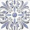 OPORTO Decor Bianco 15x15 (kart.=1m2)