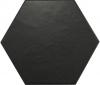 HEXATILE Negro Mate 17,5x20 (EQ-4) (1bal=0,71m2)