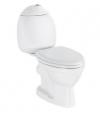KID WC kompakt dla dzieci, tylny odpływ,  białe