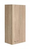 ZOJA/KERAMIA FRESH szafka wisząca 35x76x23cm, dąb platin