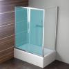 DEEP ścianka boczna 750x1500mm, szkło czyste