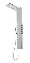 SOUL 200 panel prysznicowy 210x1500mm z baterią termostatyczną, aluminium