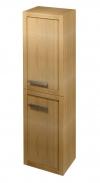 LARITA szafka wysoka 40x140x30cm, lewa-prawa, dąb natural