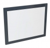 MITRA lustro w ramie 92x72x4cm, antracyt