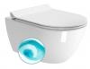 PURA WC wiszące SWIRLFLUSH, 55x36 cm, ExtraGlaze