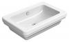 CLASSIC umywalka ceramiczna na blat 60x40 cm, ExtraGlaze