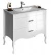 SALMA umywalkowa szafka 89,5x85x45cm, biała
