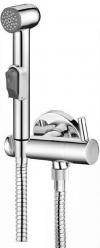 Prysznic bidetowy z zaworem naściennym, chrom