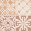 CRETA Decor Brown 20X20 (bal=1m2)